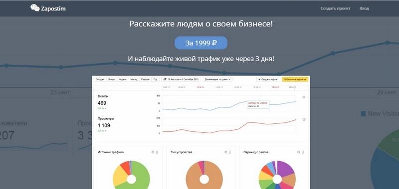 Zapostim ru (Запостим ру) – заказать крауд маркетинг просто