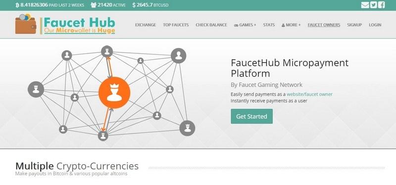 Кошелек Faucethub io – регистрация, обзор и отзывы