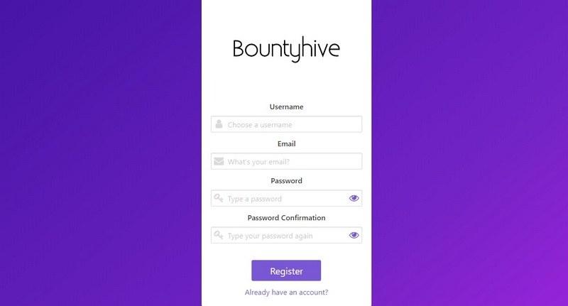 Bountyhive_io_регистрация