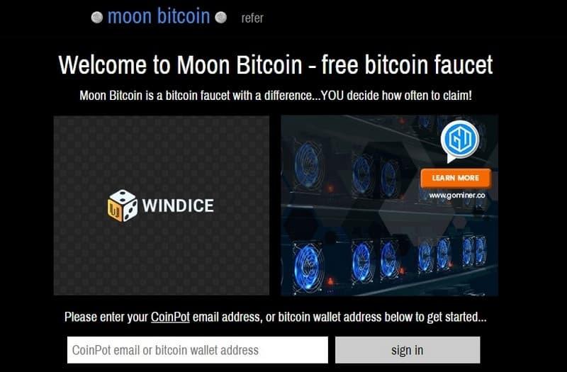 Биткоин кран Moon Bitcoin