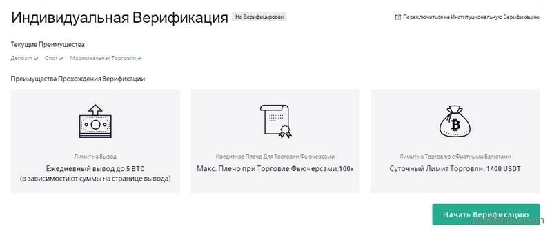 Kucoin верификация аккаунта