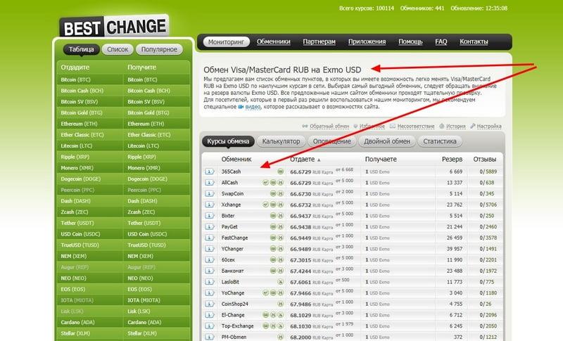 Bestchange покупка Ex-Code с карты в рублях