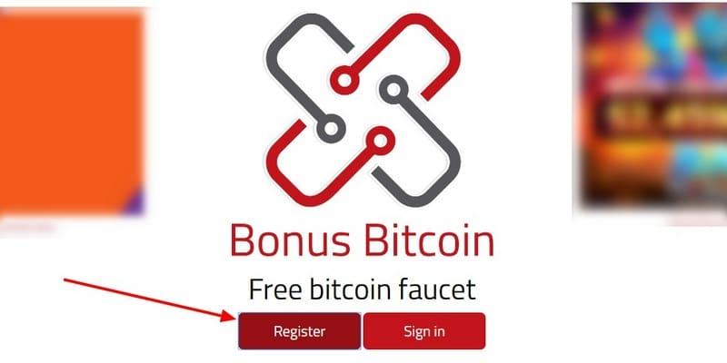 Бонус Биткоин регистрация