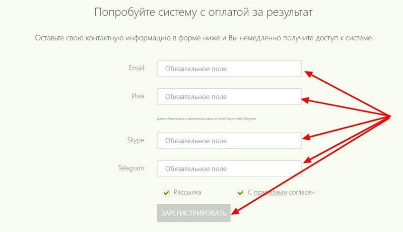 SalesDoubler регистрация аккаунта