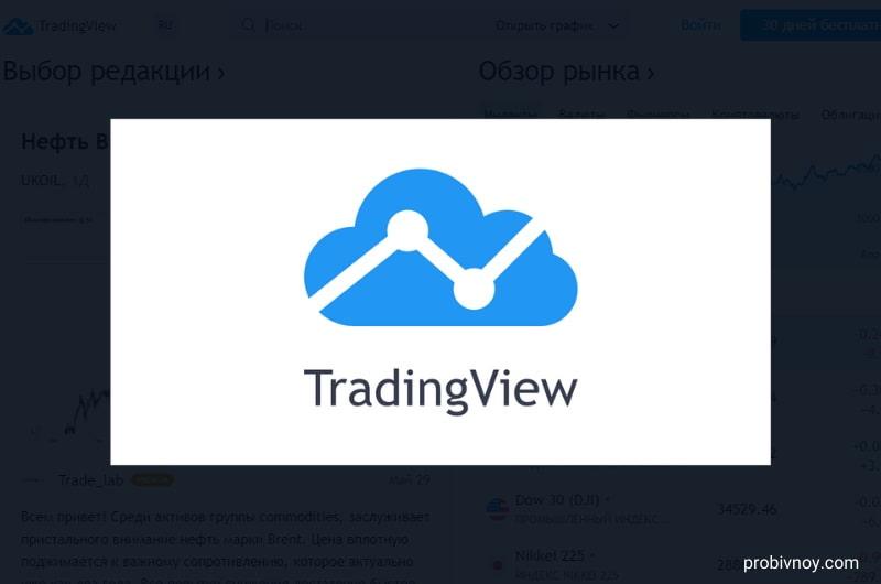 TradingView (ТрейдингВью) – регистрация, обзор и отзывы о платформе